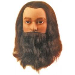 Natūralūs 25 cm plaukai su...