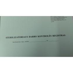 Sterilizatoriaus darbo...