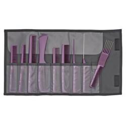 Šukų rinkinys violetinės...