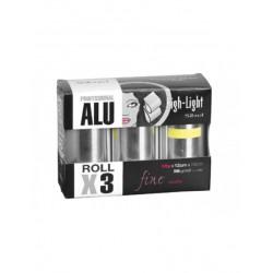 Aliuminio folija SIBEL 3 vnt.