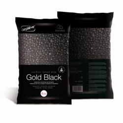Juodas vaškas granulėse...